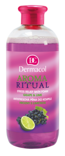 AROMA RITUAL STRESS RELIEF FOAM BATH GRAPE & LIME