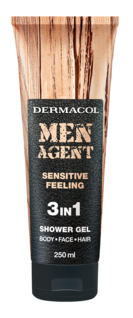 Men agent shower gel sensitive feeling