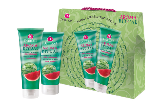 Aroma Ritual gift package with watermelon