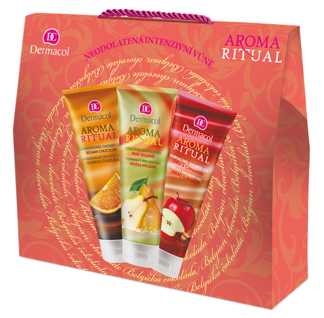 Aroma Ritual gift package with a shower gel mix