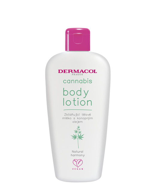 Cannabis body lotion